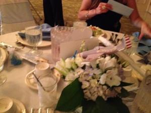 Weddingplane in flowers