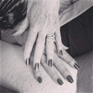 buscia's hands
