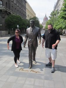 Ronald Regean Statue