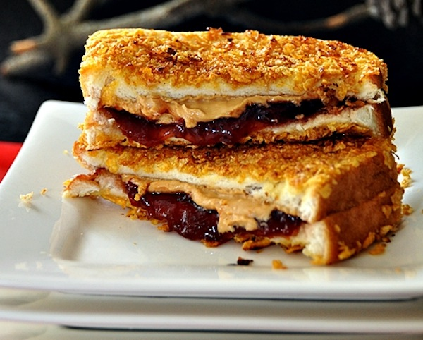 Monday Bacon Peanut Butter Jelly Sandwich 99 00 Tosabarbell